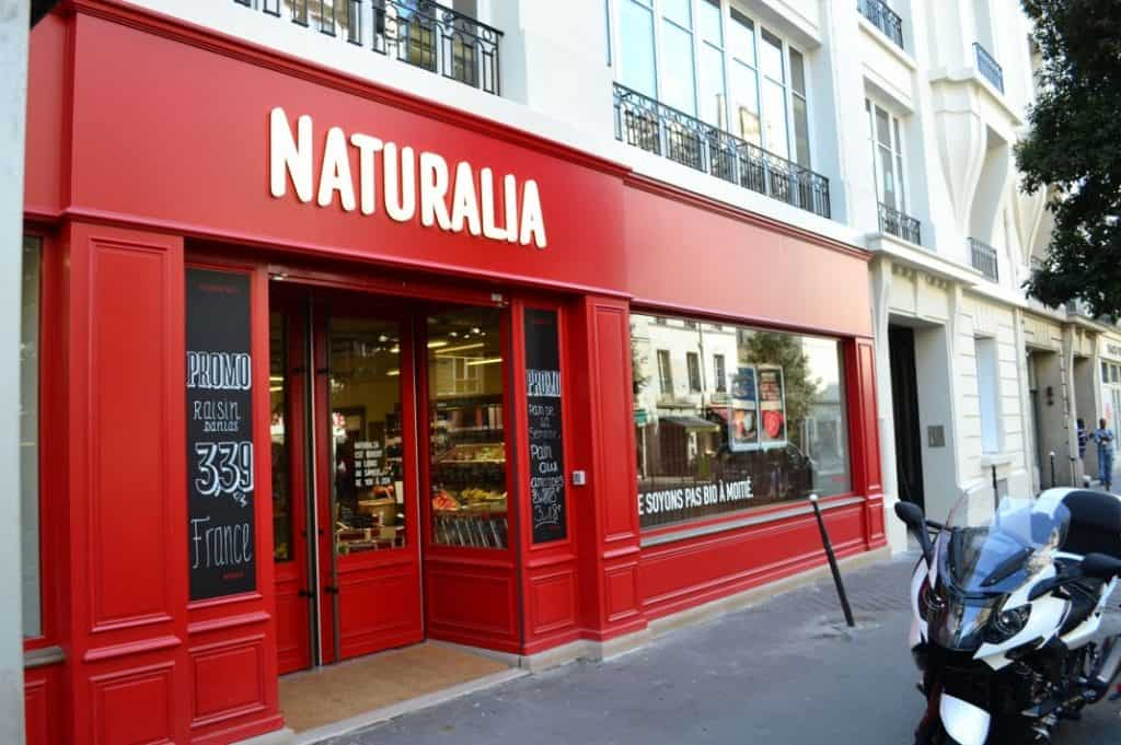 Gluten Free Paris Restaurants & Cafe Guide - Naturalia and Bio c' Bon