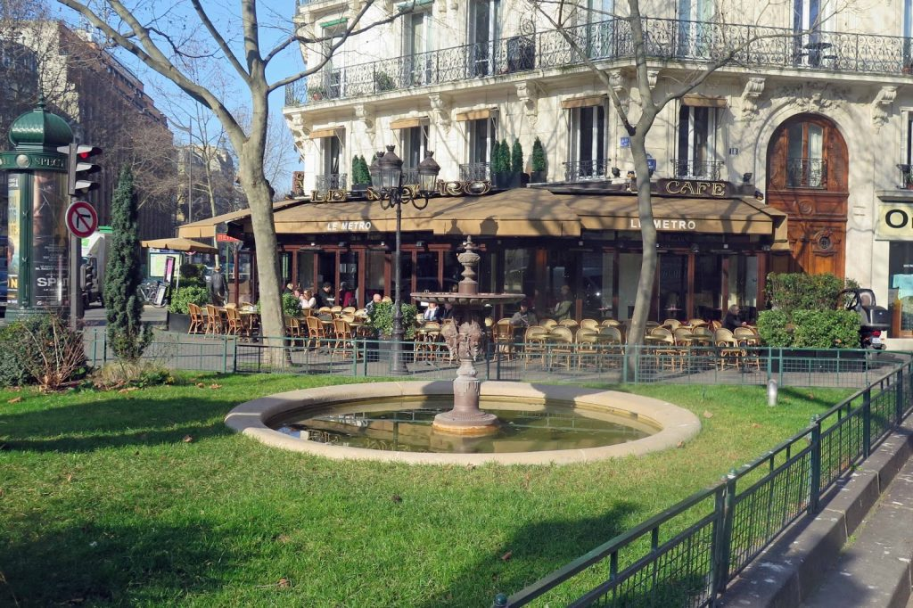 Place Maubert in Paris