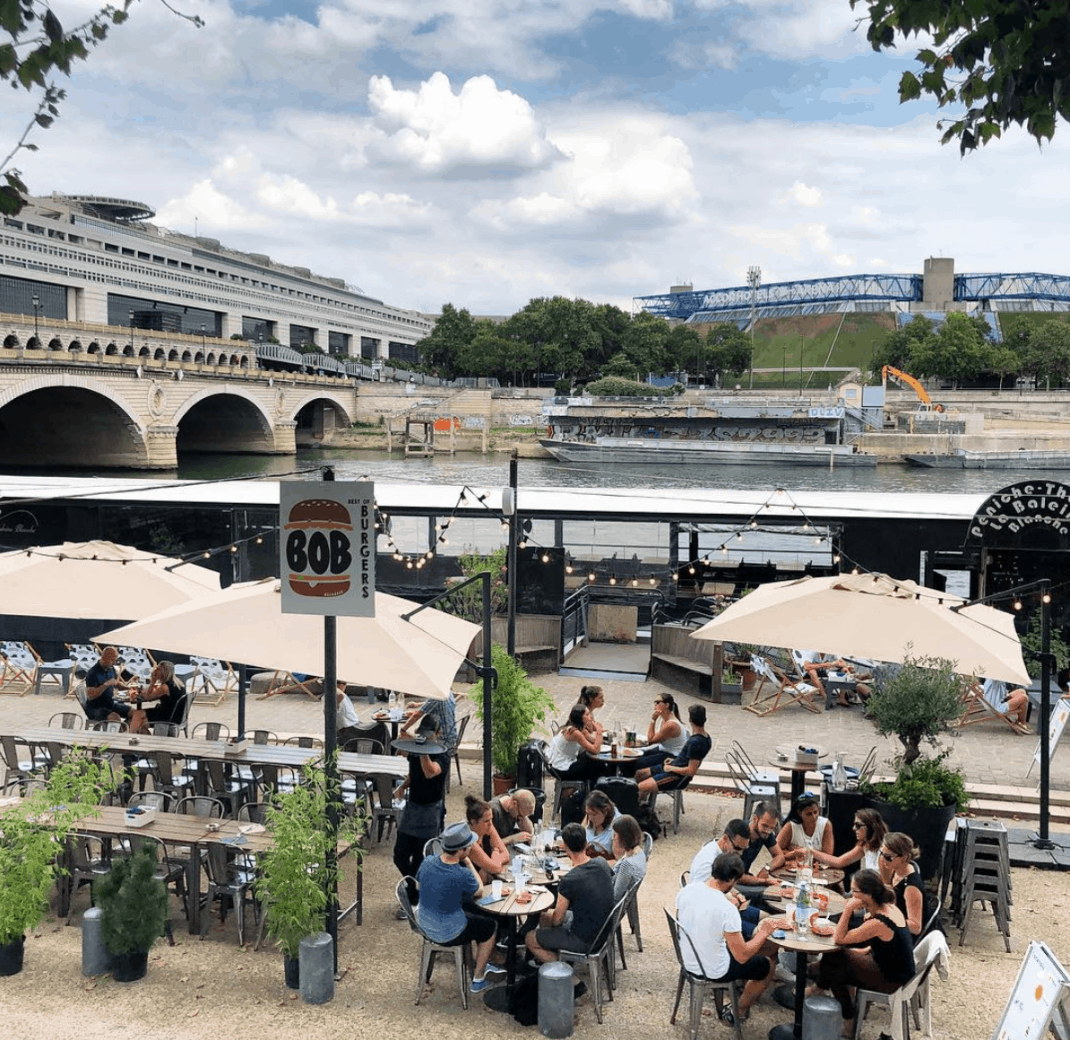 Best outdoor cafe in paris