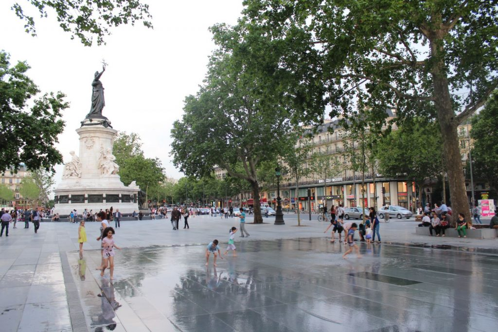 Place de la Republique in Paris