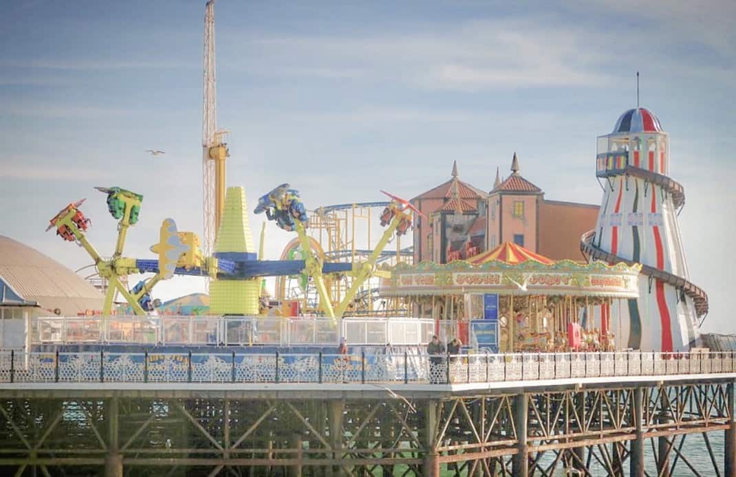 Best Day Trips From London - Brighton Palace Pier