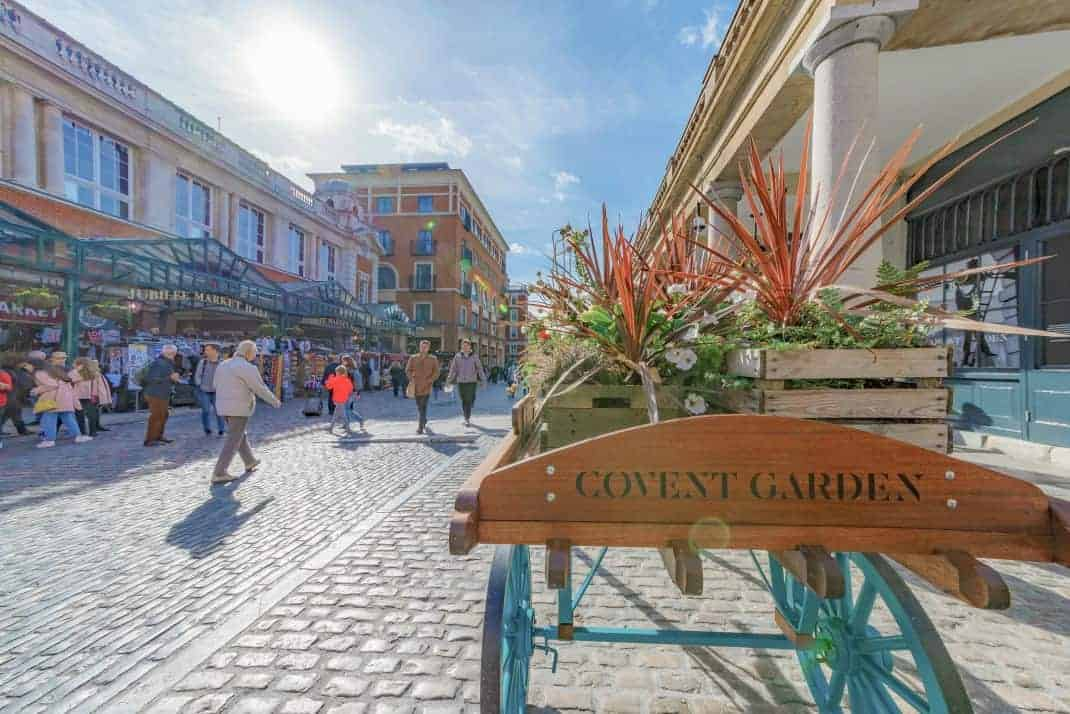 The Best Shopping In London - Covent Garden Shopping