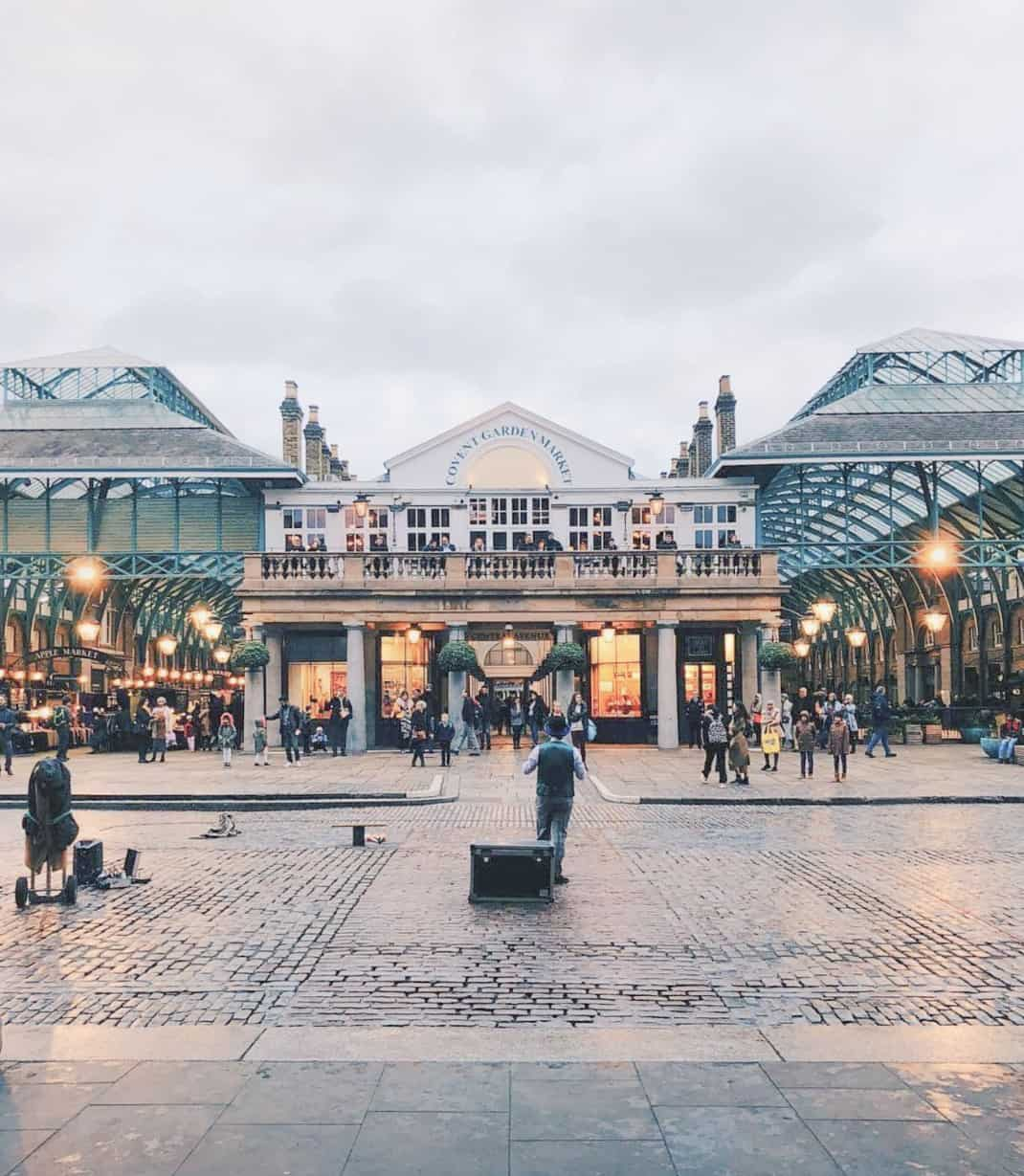 The Best Shopping In London - Covent Garden Market