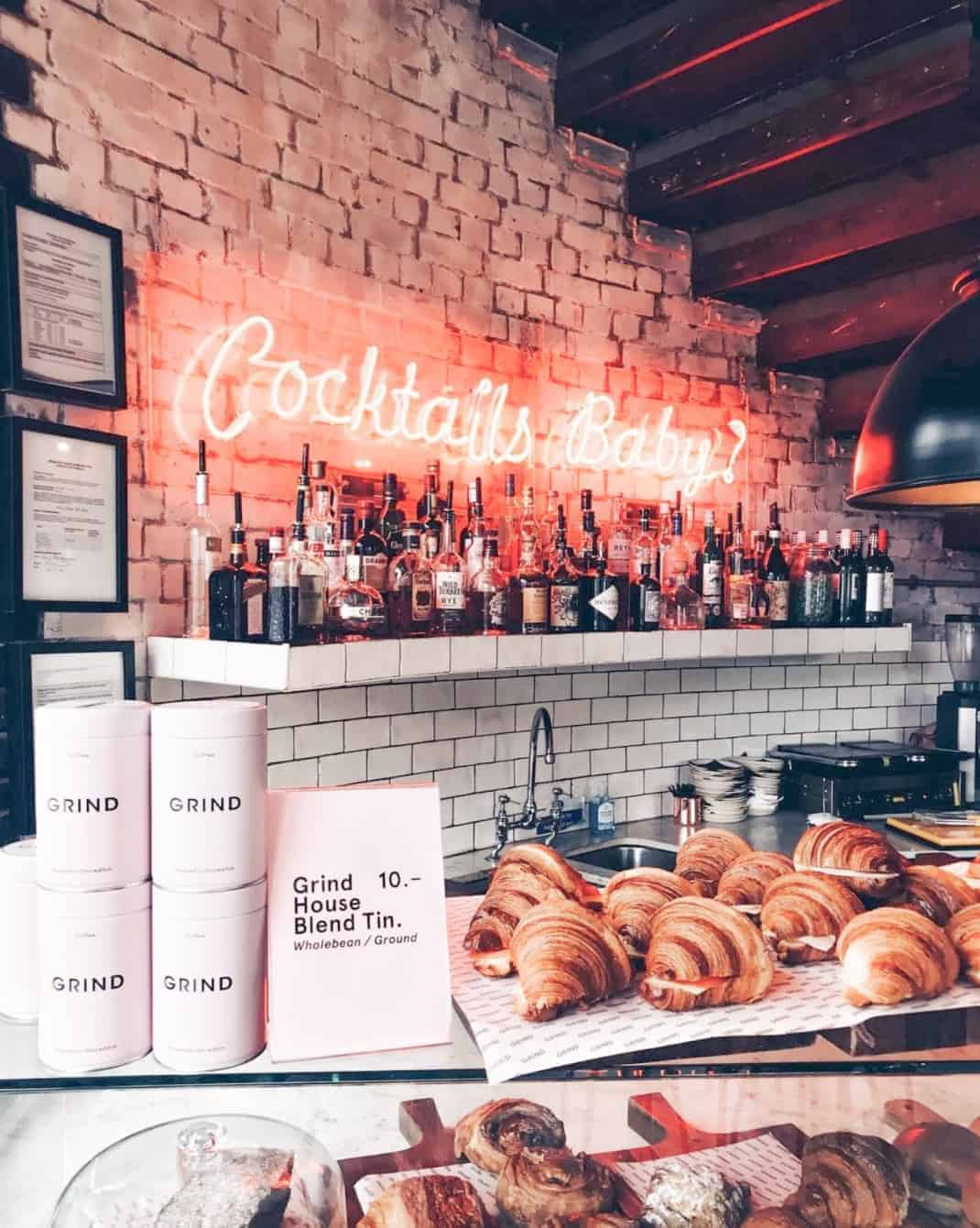 What To Eat In London - Grind Coffee / Cocktail London
