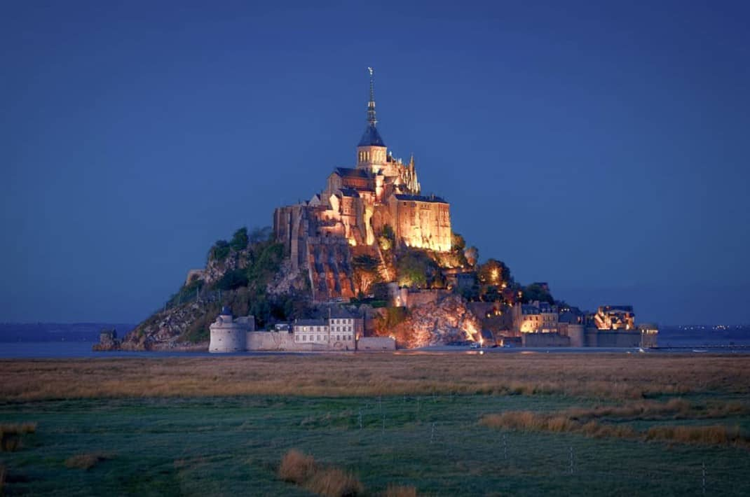 2 Days In Brittany - Mont Saint Michel At Night