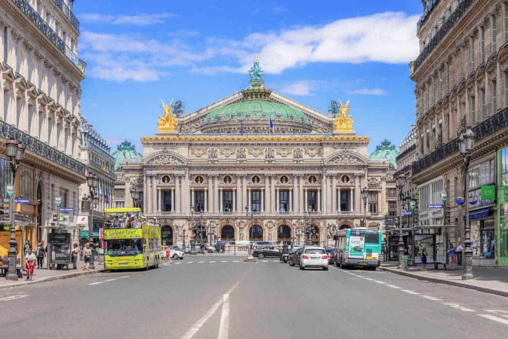 Opera District in Paris