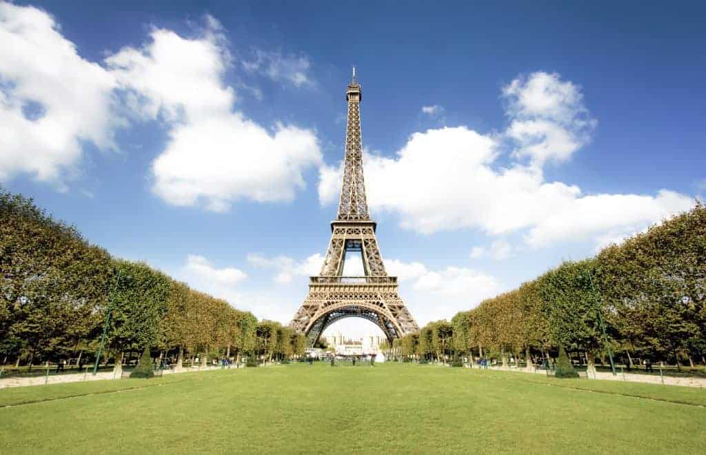 Eiffel Tower - Paris Attractions Map