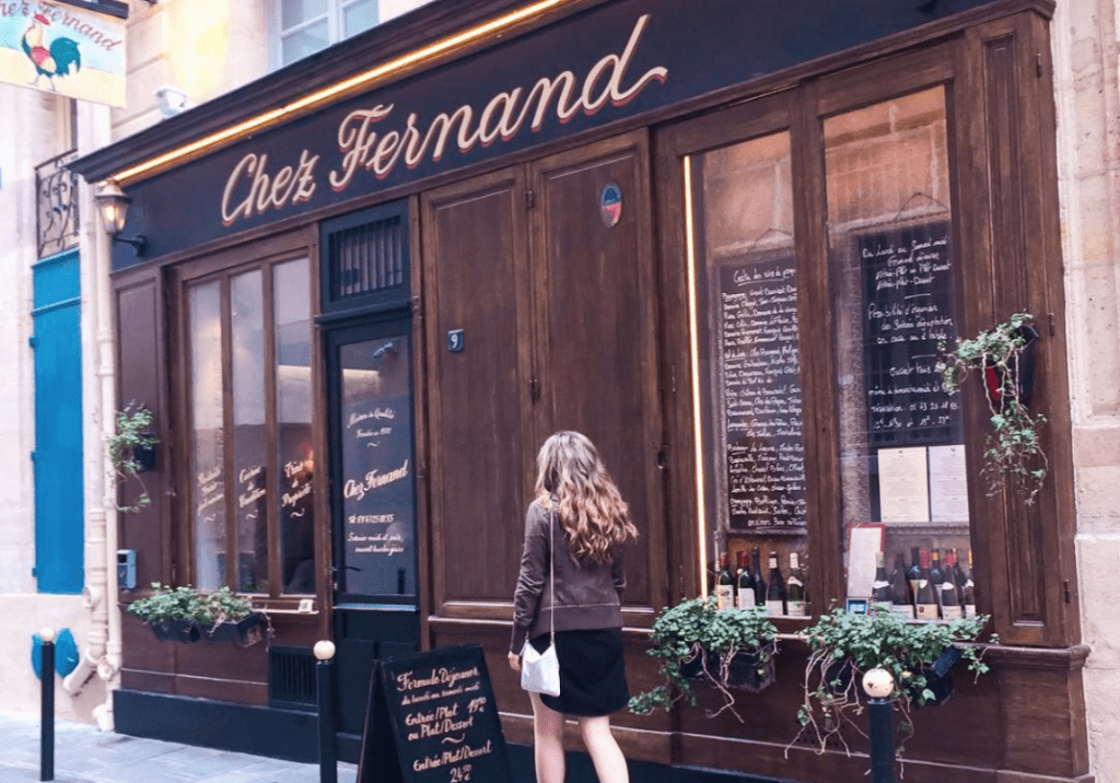 Best escargot in Paris - Chez Fernand
