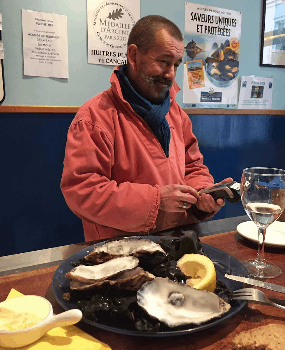 Best oyster in Paris: Authentic taste at Pleine Mer