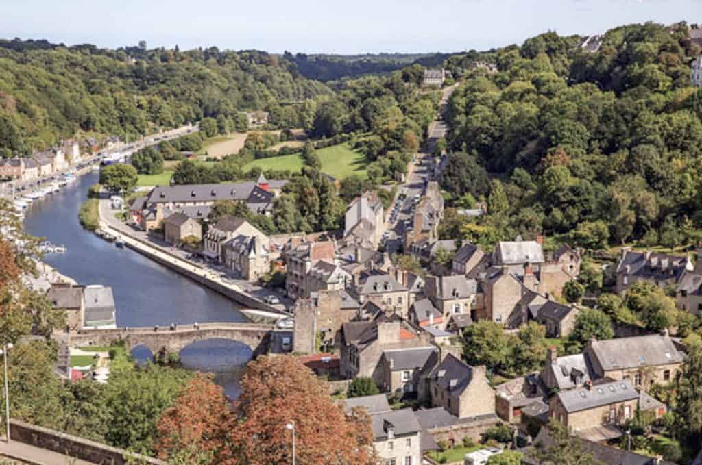 Dinan, A Quanit Medieval Town In Brittany - St. Catherine's Tower