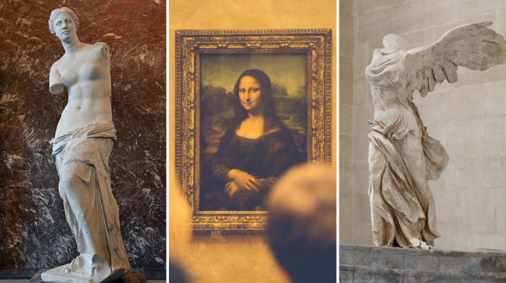 what to see at the Louvre: Top 3 Louvre Attractions