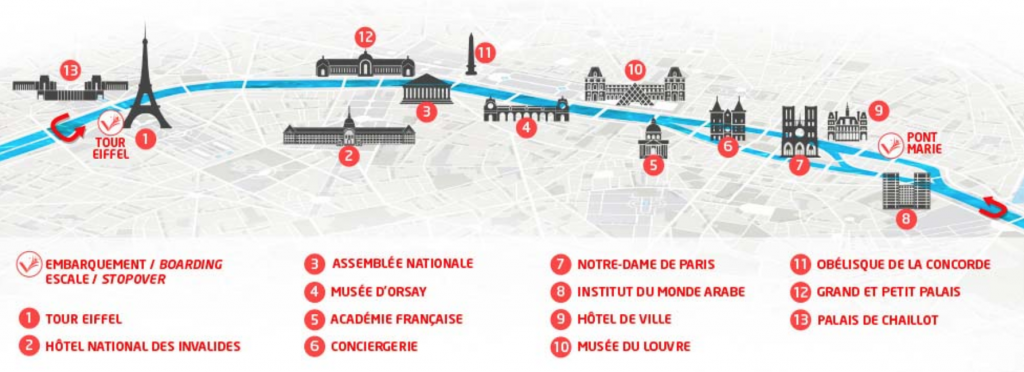 Vedettes de Paris - 1 Hour Sightseeing Cruise