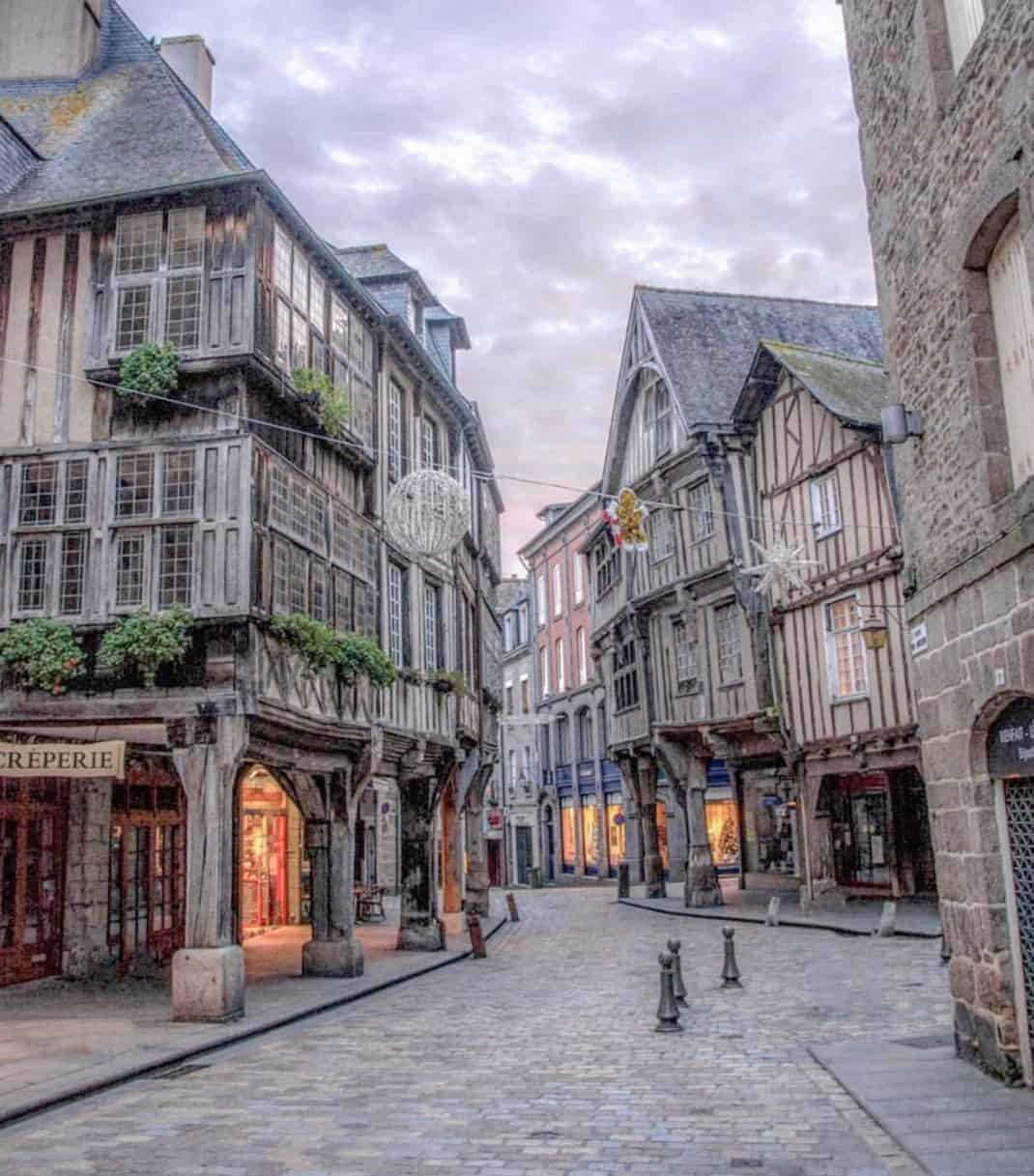 2 Days In Brittany - Dinan Twilight