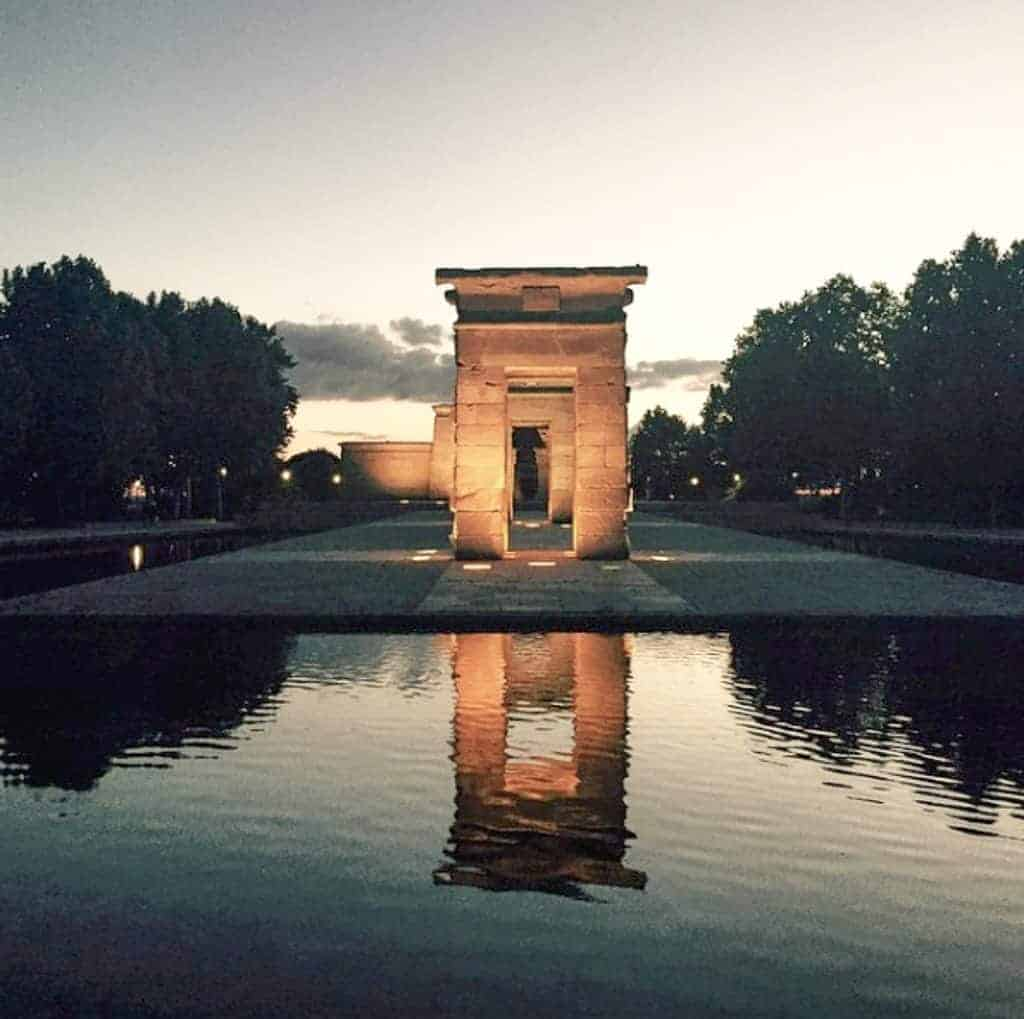 2 Days In Madrid - Temple de Debod
