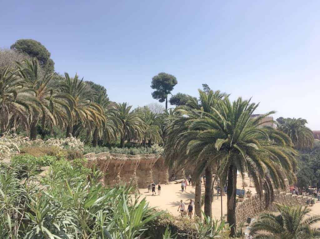Park Guell - Park Surroundings