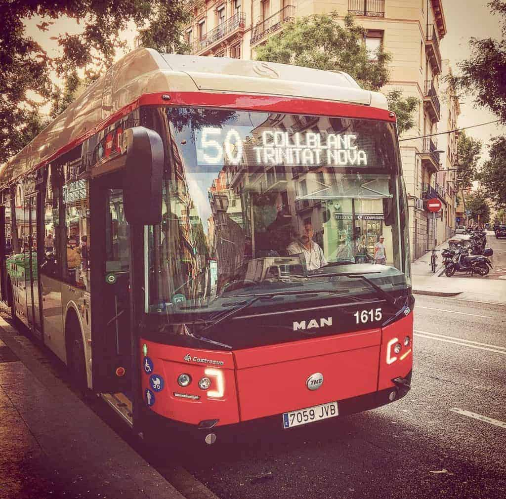 Public Transportation In Barcelona - Bus