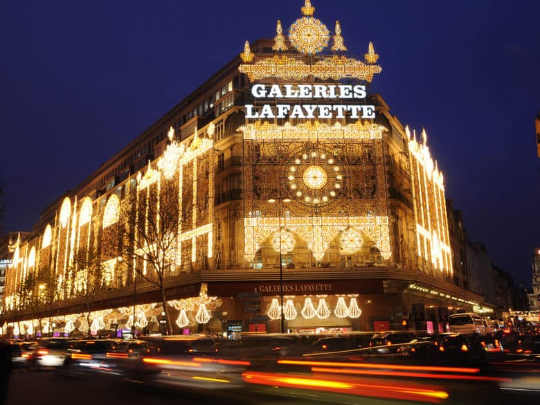 opera district paris - galeries lafayette
