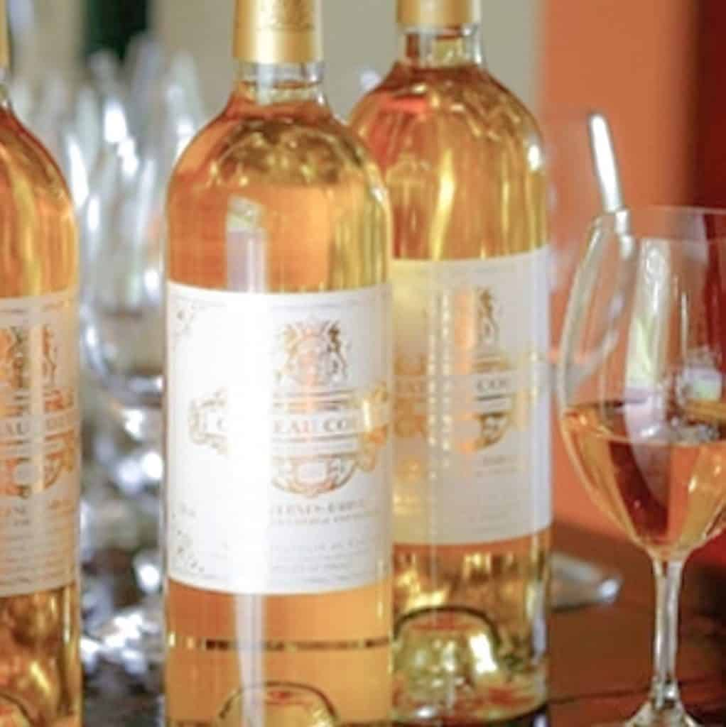 What To Eat In The Bordeaux Area - Sauterne White Dessert Wine