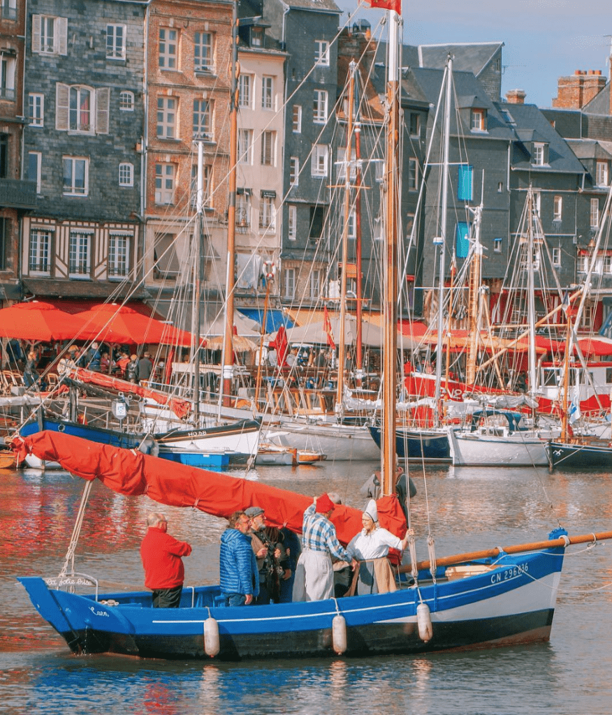 Harbour of Honfleur France