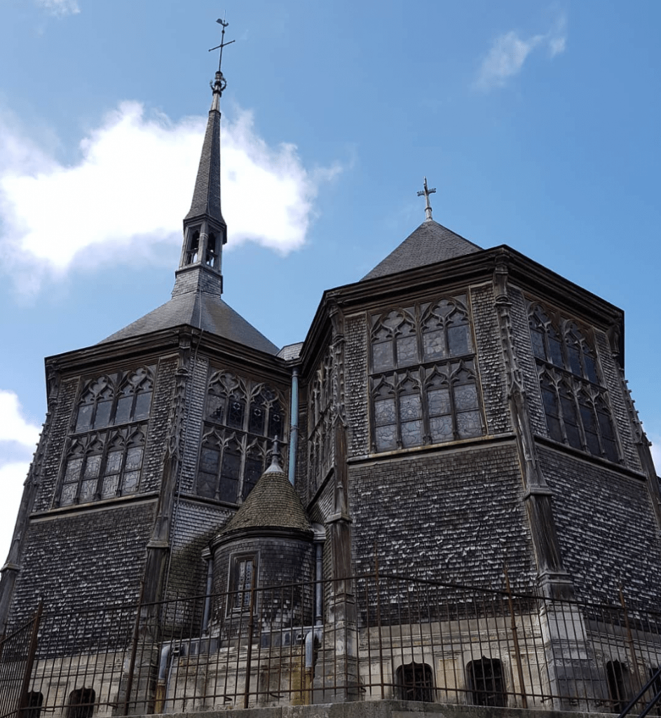 Sainte Catherine Church in Honfleur France