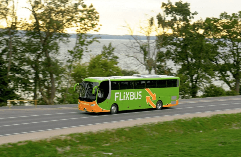 Flixbus from Paris to Honfleur France
