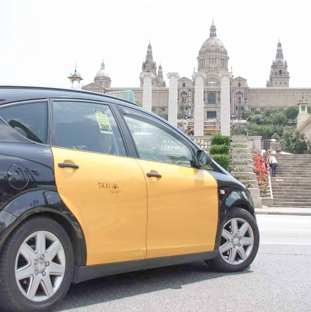 Public Transportation In Barcelona - Taxi