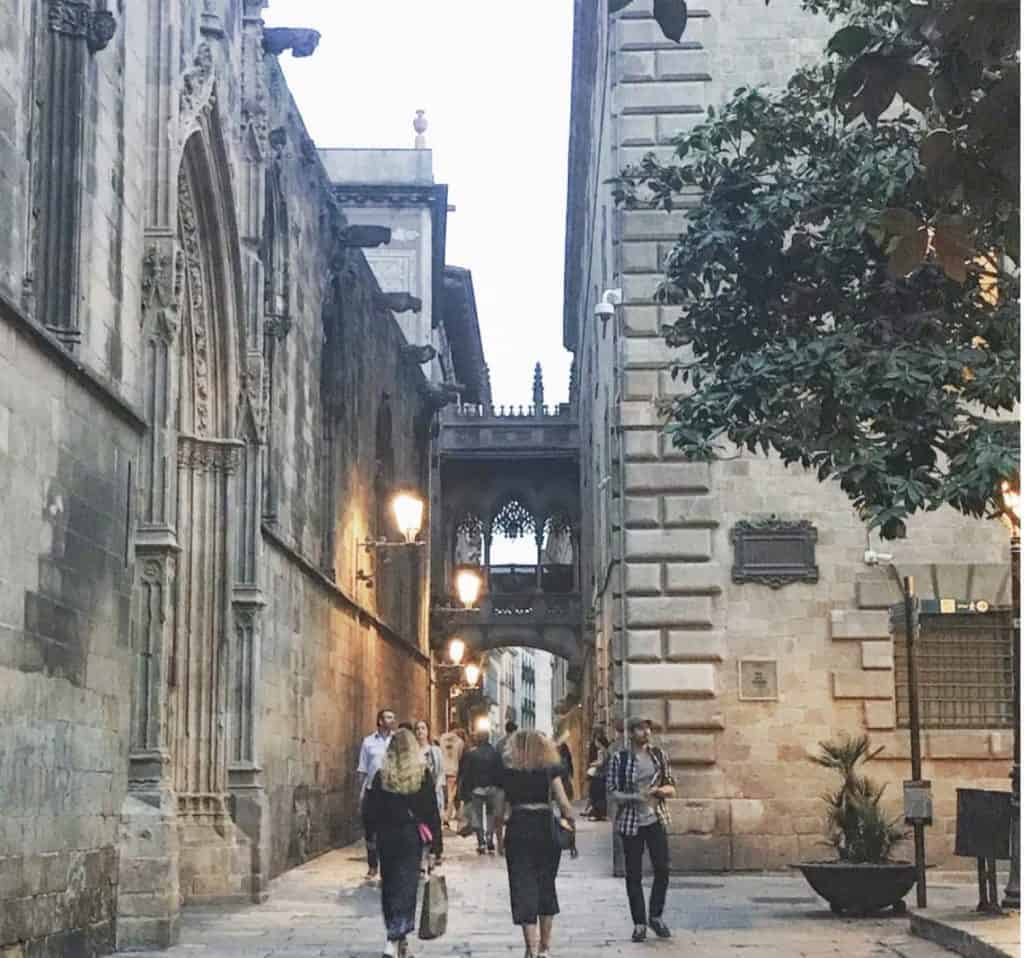 Where To Stay In Barcelona - The Gothic Quarter