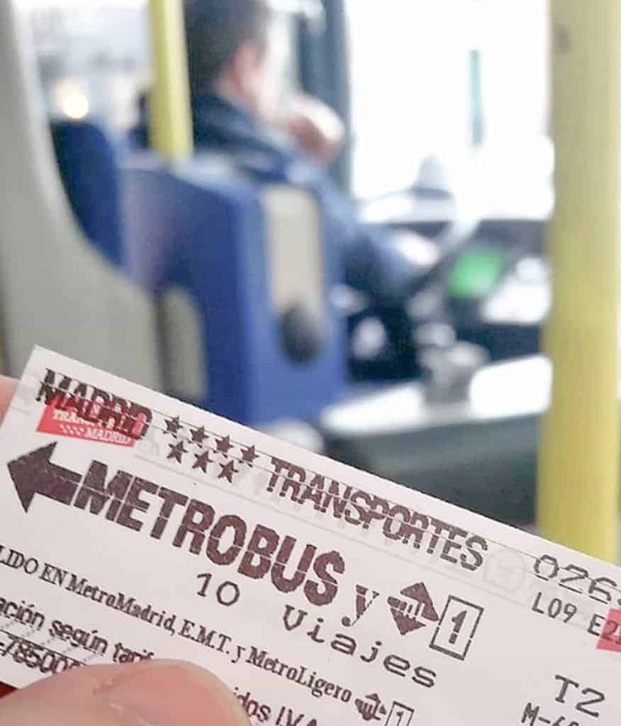 Public Transportation In Madrid - Transport Pass