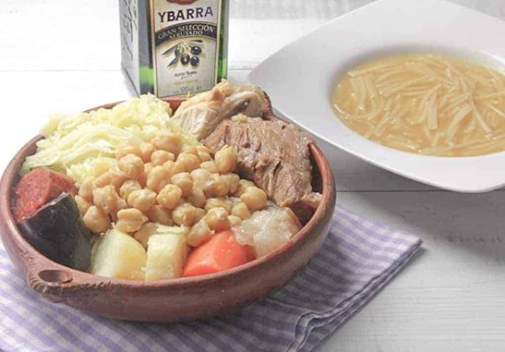 What To Eat In Madrid - TRADITIONAL COCIDO MADRILEÑO