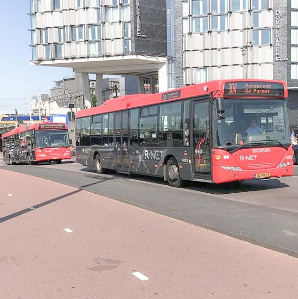 Public Transportation In Amsterdam - Bus