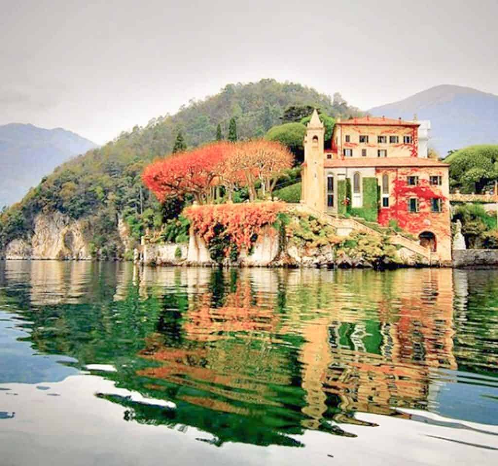 Lake Como - Villa del Balbianello Lake