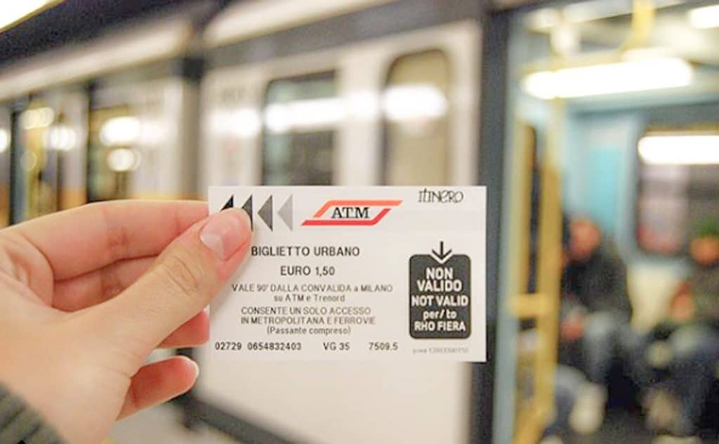 Public Transportation In Milan - Metro Ticket