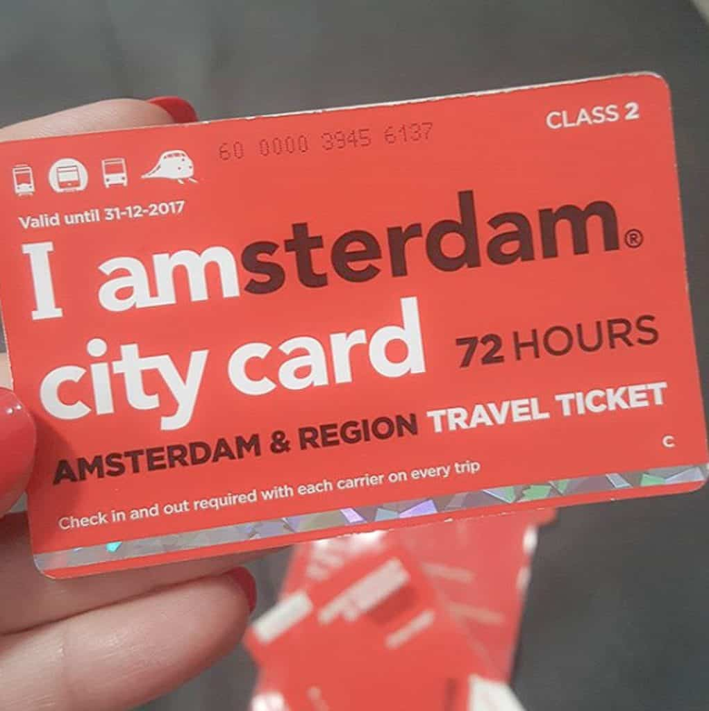 Public Transportation In Amsterdam - Tourist Pass