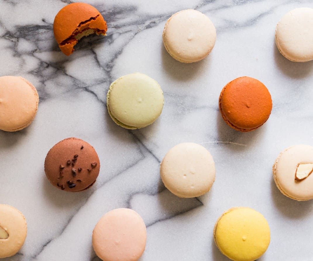 Macarons at Galeries Lafayette