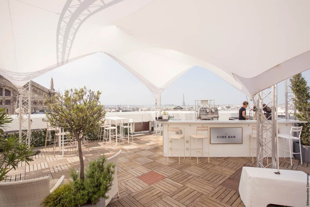 Paris Rooftops #Special Events and Rooftops on the Rooftop Terrace