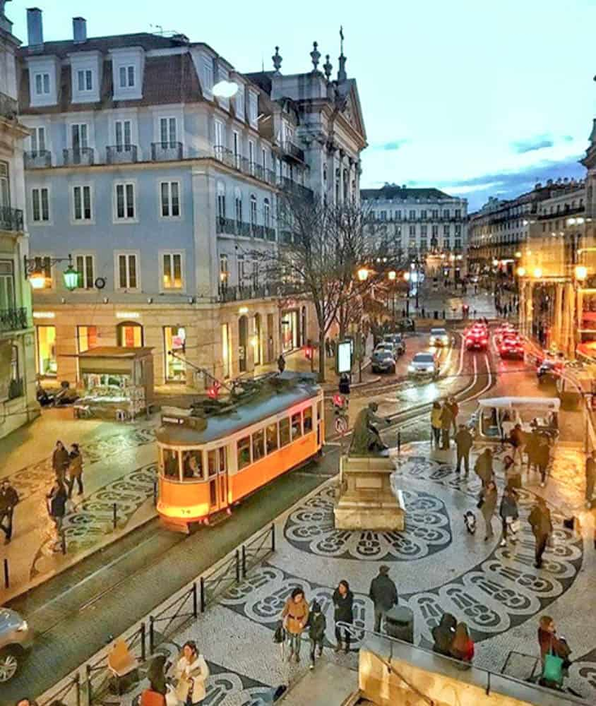 Where To Stay In Lisbon - BAIXA AND CHIADO