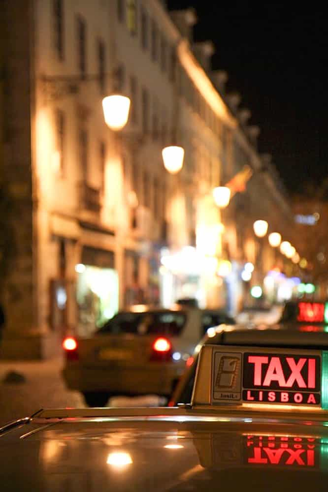 Public Transportation In Lisbon - Taxi