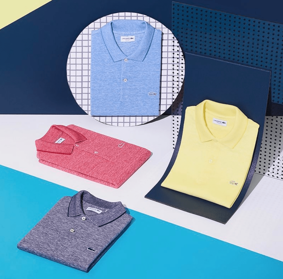 French brand Lacoste shirt
