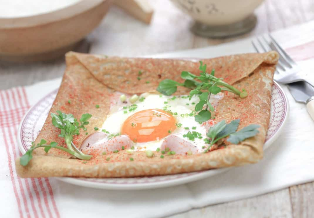Delicious crepes Galette for kids
