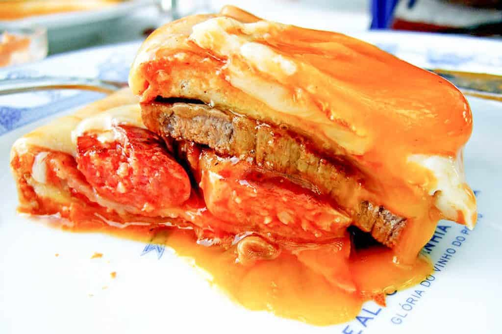 What To Eat In Porto - FRANCESINHA