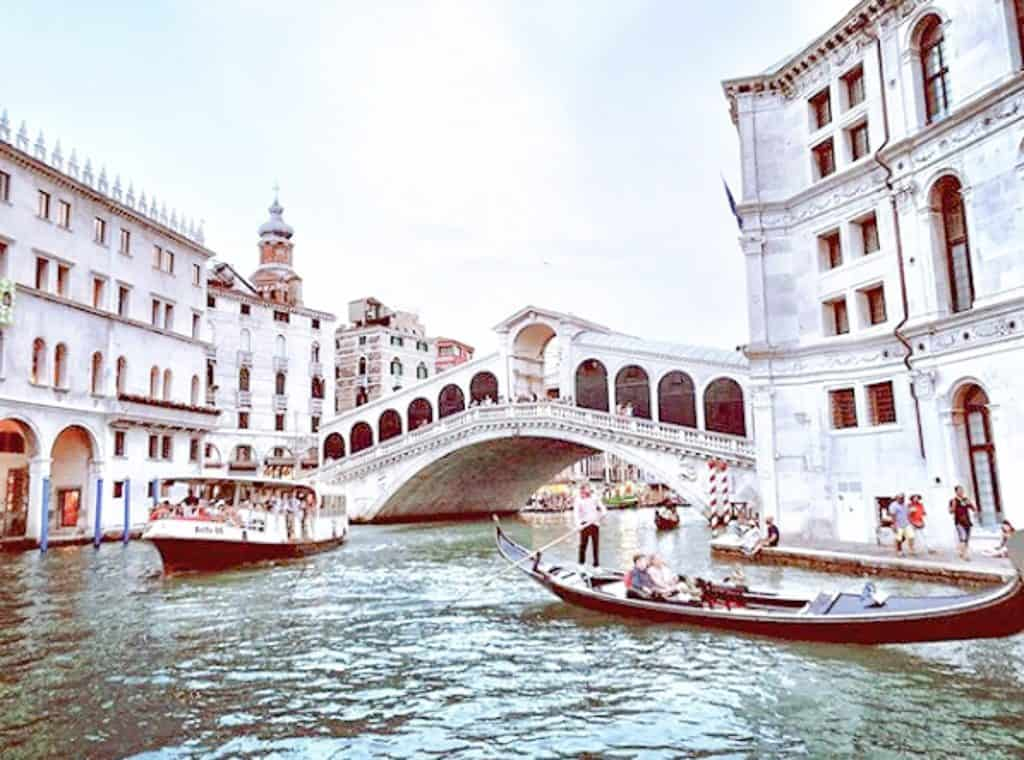 Grand Canal - The Rialto Bridge