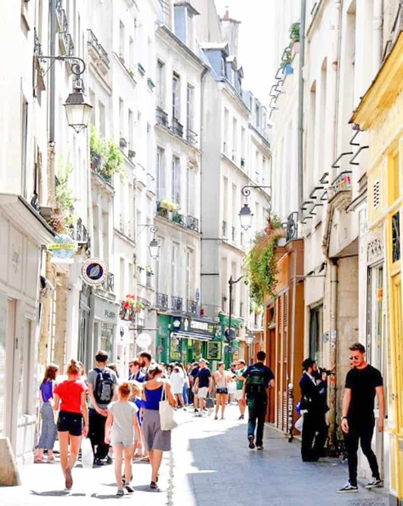 Top Paris Shopping Guide - Le Marais Trendy Shopping