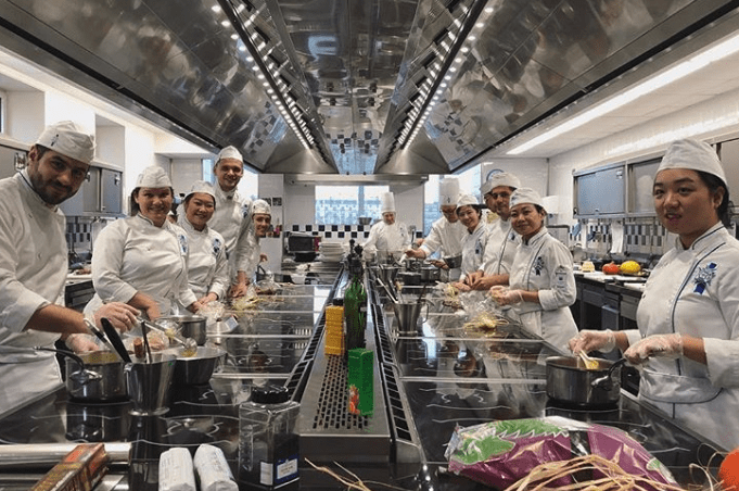 Cordon Bleu Paris cooking class
