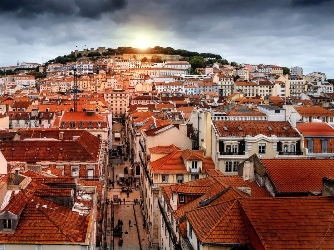 top list of the most instagrammable spots of Lisbon: Lisbon city views