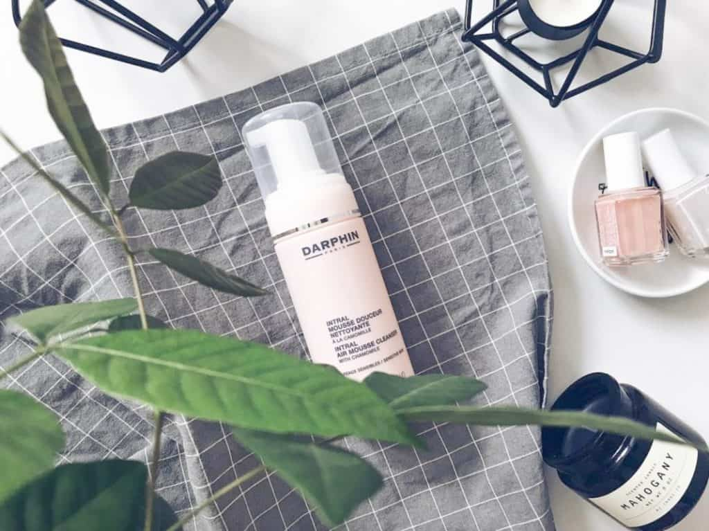 French skincare Darphin's Intral Air Mousse Cleanser