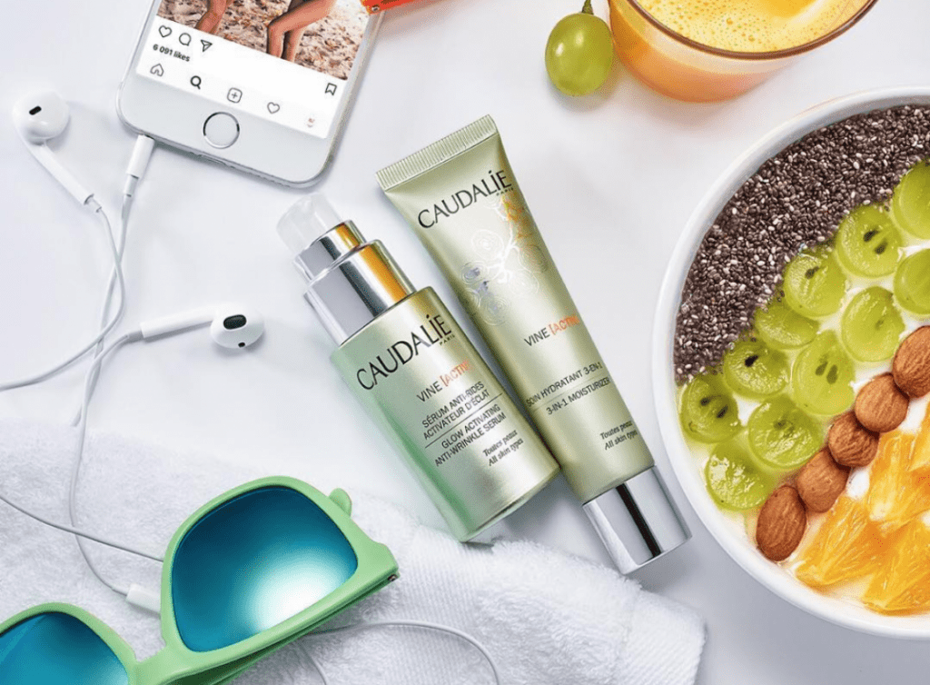 French skincare Caudalie