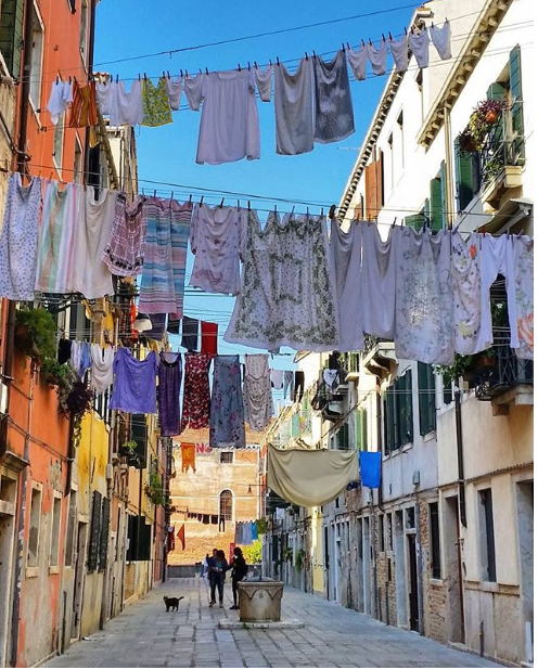 View of Venitian streets