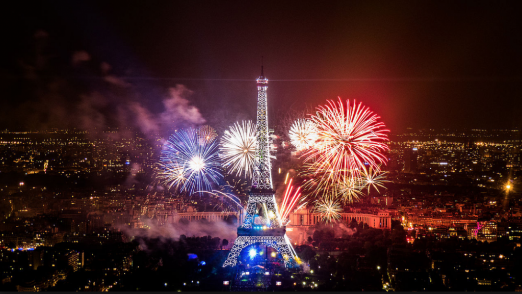Christmas & New Year Trip In Paris - Eiffel Tower On New Year Eve