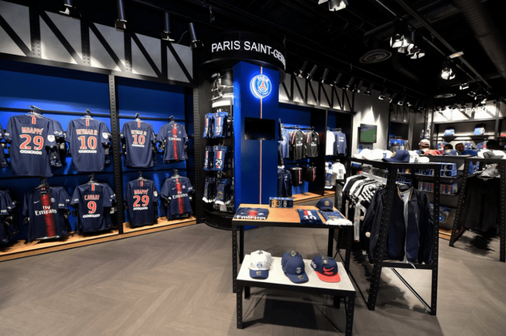 Paris Souvenir Shopping - Paris Saint Germain Store