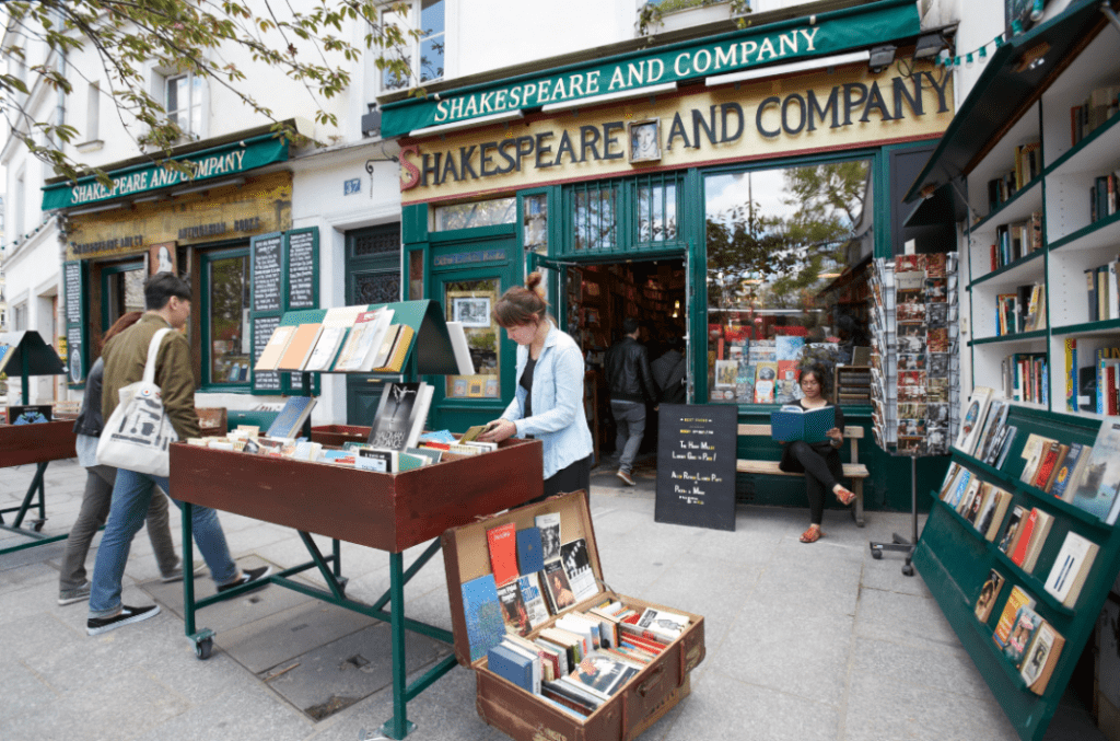 Paris Souvenir Shopping - Shakespeare & Company